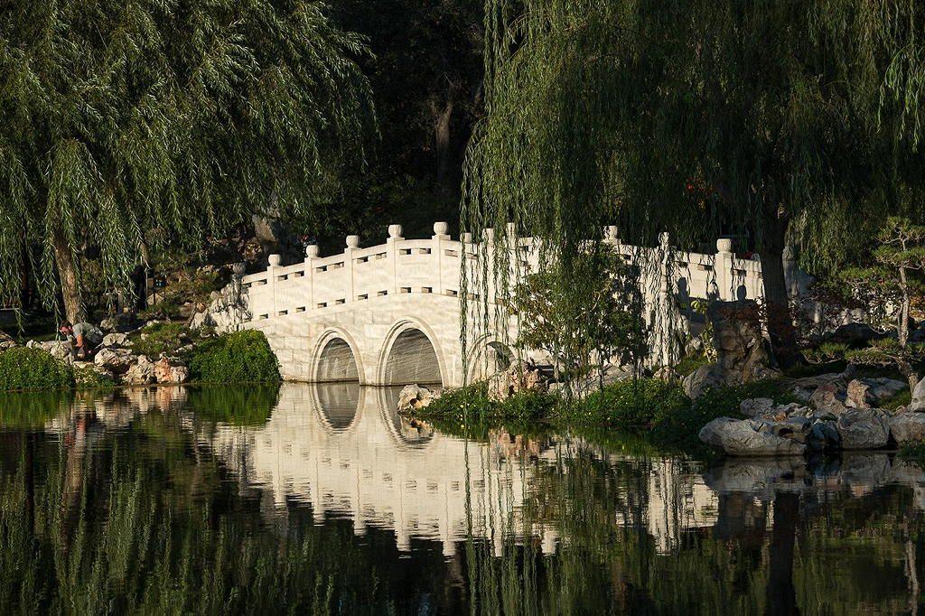 Huntington Botanical Gardens near Circa apartments in downtown Los Angeles